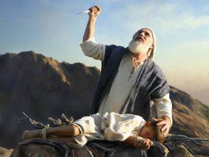 Abraão e o sacrificio de Isaac